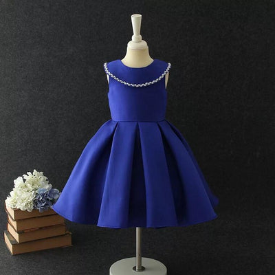 Florence Dress in Sapphire