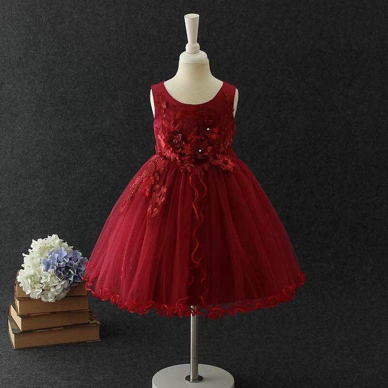 Isla Dress in Ruby