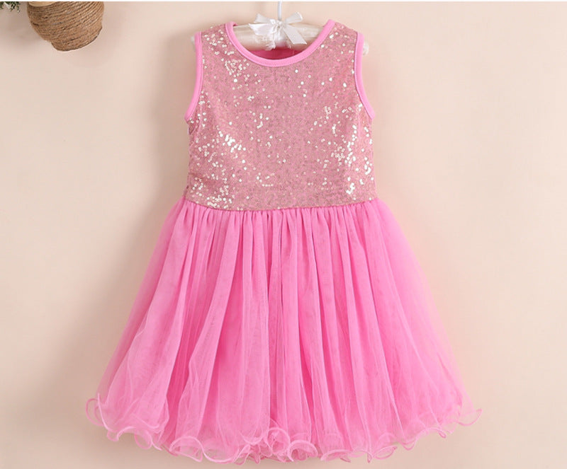 Britney Dress in Bubblegum