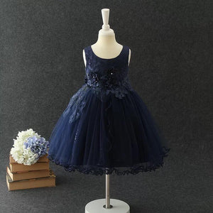 Isla Dress in Navy