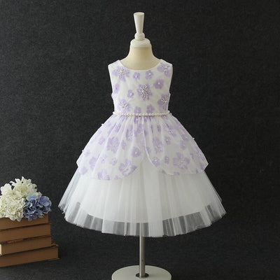 Evie Dress in Lavender