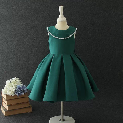 Florence Dress in Emerald
