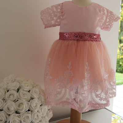 Adele Dress in Rose