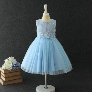 Cara Dress in Sky Blue