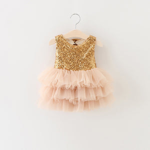 Arabella Dress in Champagne