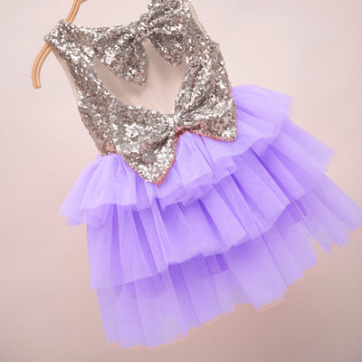 Arabella Dress in Lilac