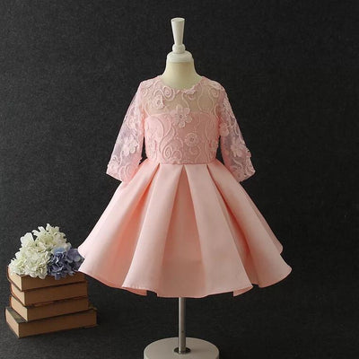 Amelia Dress in Rose