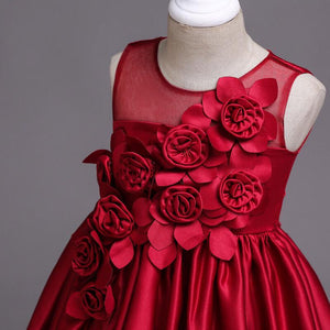Naomi Dress in Ruby