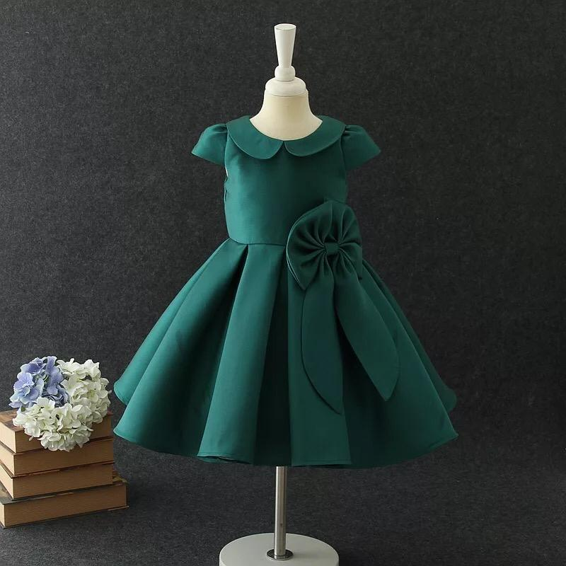 Delilah Dress in Emerald