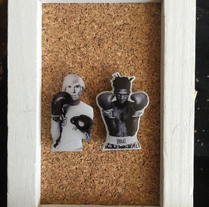 Warhol and Basquiat Pin Set