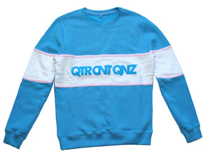 SWEATSHIRT QTR COLOR BLOCK