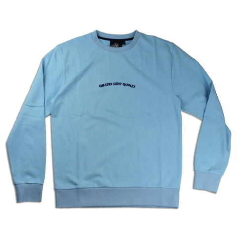 Sweater Quatre Cent Quinze bleu ciel