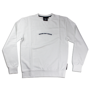 Sweater Quatre Cent Quinze blanc
