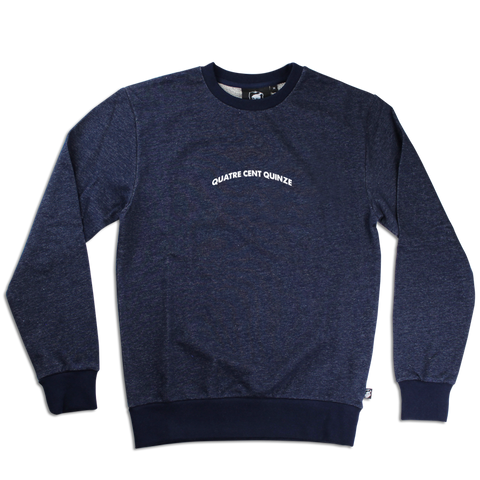Sweater Quatre Cent Quinze bleu navy