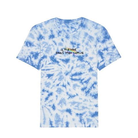 T-shirt Il pleure - Tie and Dye