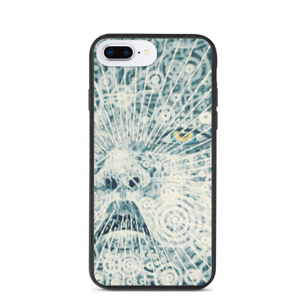 Biodegradable iPhone Case - Trippy Art