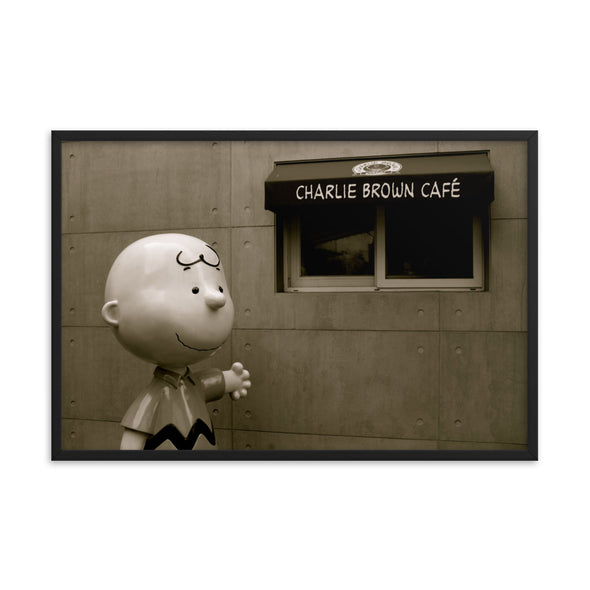 Charlie Brown Cafe in Busan, South Korea