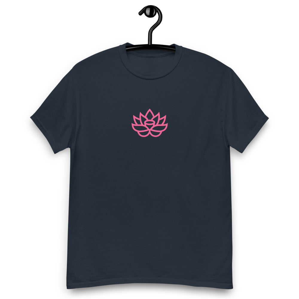 T-Shirt with Pink Lily