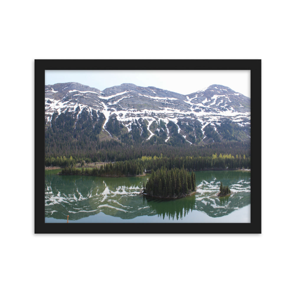 Rocky Mountains Landscape Poster Photography