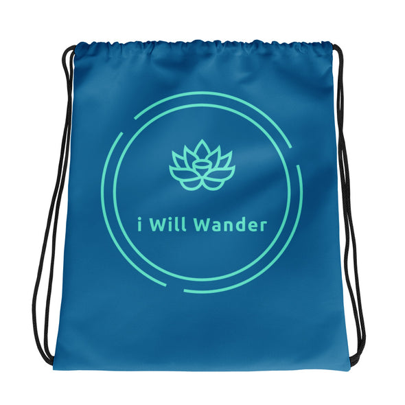 Drawstring Bad - I Will Wander Fashions - Blue + Light Blue