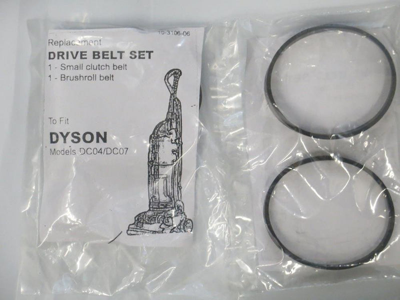Vacuum Cleaner Bags Dyson DC07 DC04 DC14 Clutch model set of 2 belts
