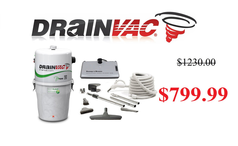 DrainVac Eco Package