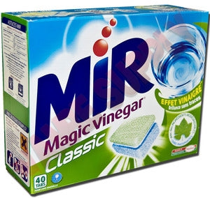 MIR Magic Vinegar Classic Dishwasher Cleaner 40 Tabs