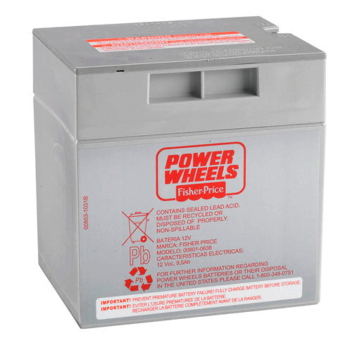 Power Wheels® 12-Volt Rechargeable Battery - Grey