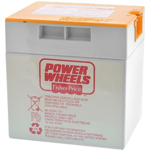 Power Wheels® 12-Volt Rechargeable Battery - Orange Top