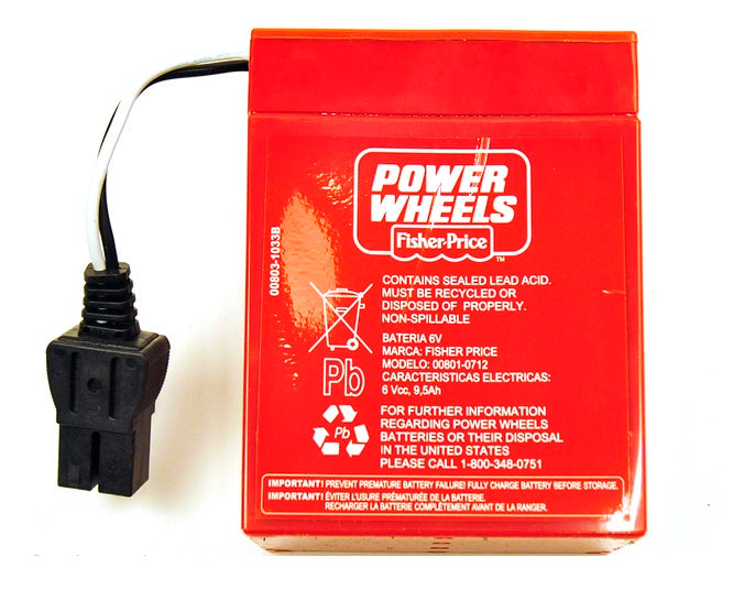 Power Wheels® 6-Volt Rechargeable Battery