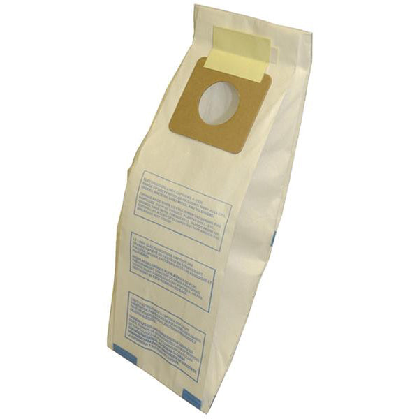 Panasonic U U3 U6 U12 Upright Commercial Vacuum Paper Bag