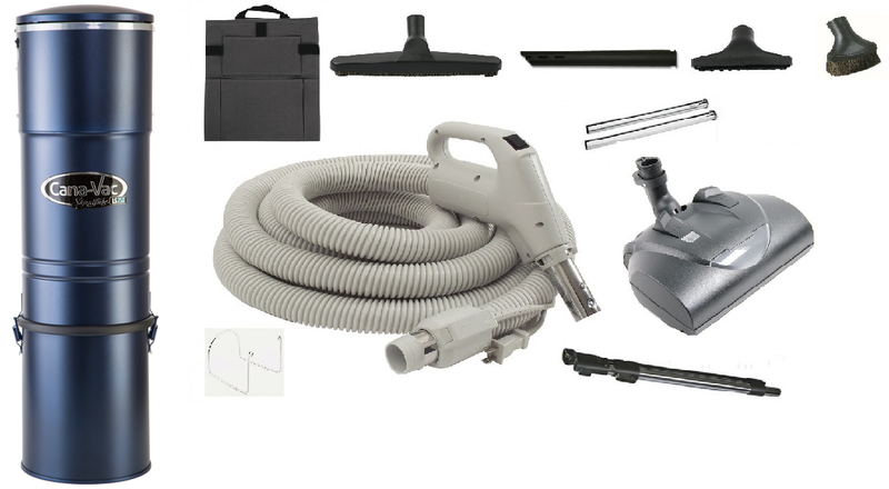 Cana Vac LS 750 & Wessel Werk Accessory Kit