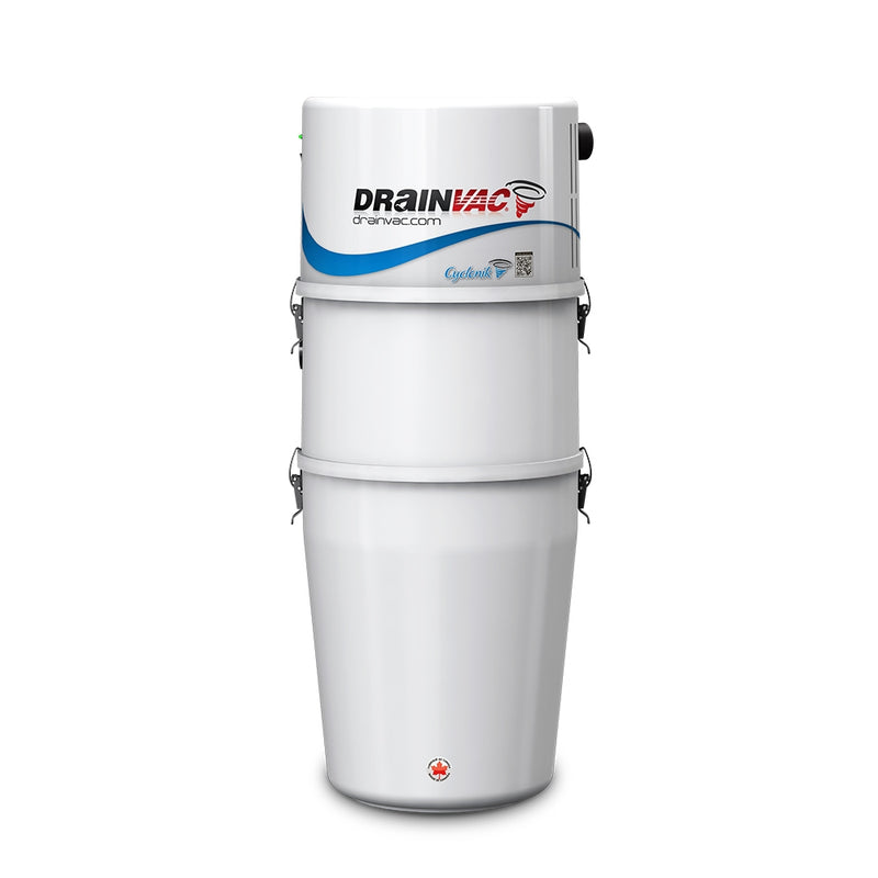 DrainVac DV1R700 / 700AW Residential Cyclonik System with Foam Filter