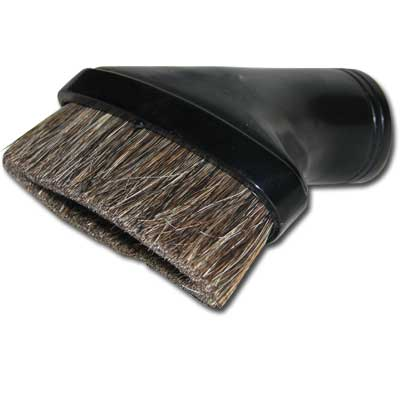 Dusting Brush Oval - Black