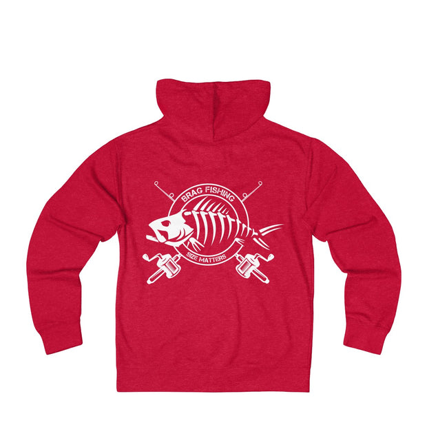 Brag Fishing - Unisex French Terry Zip Hoodie