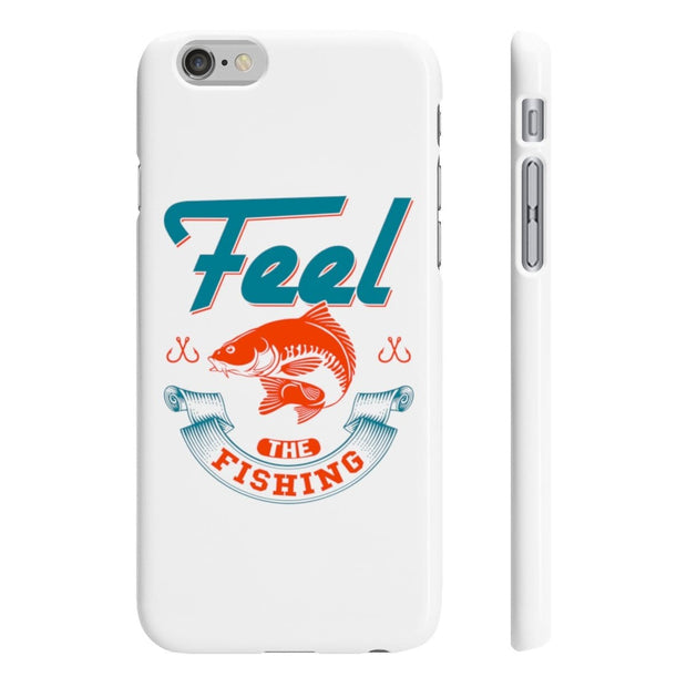 Feel the fishing - Wpaps Slim Phone Cases