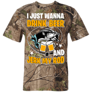 3980 Code V Short Sleeve Camouflage T-Shirt - Brag Fishing