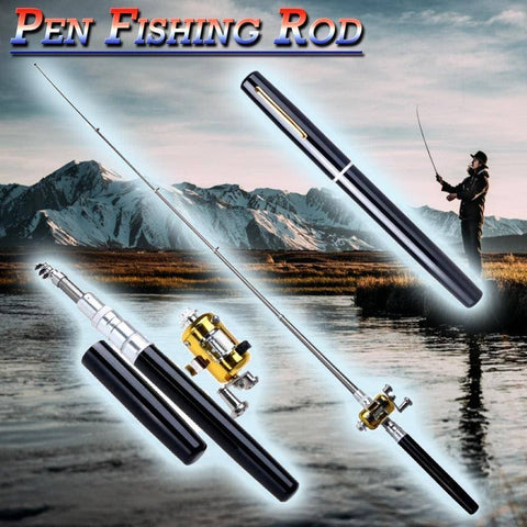 Brag Fishing Pen Rod™ - Quick Strong Take anywhere rod!