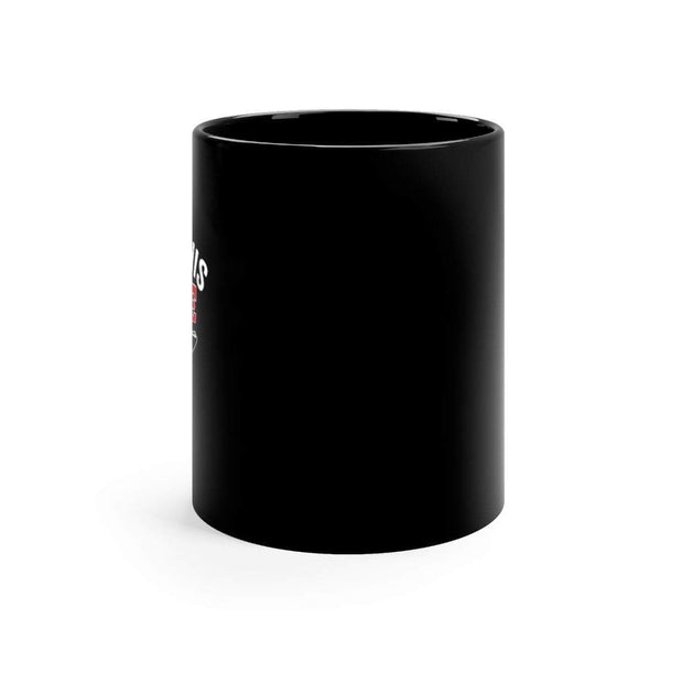 I like his pole - Black mug 11oz - Brag Fishing