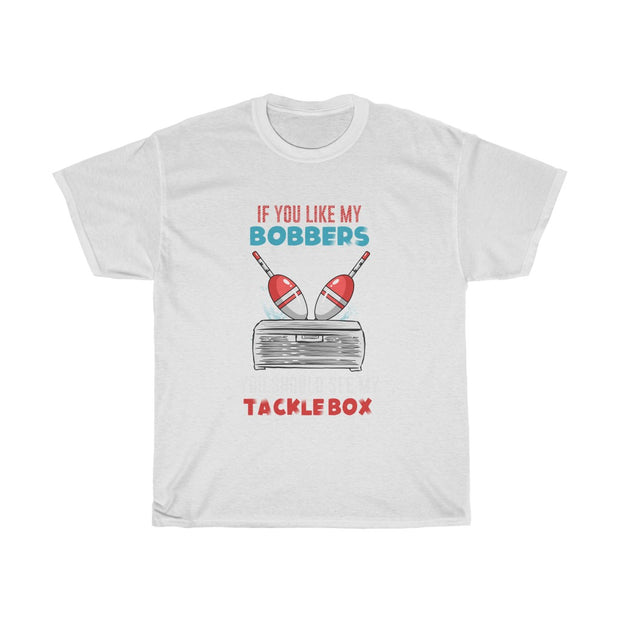 If you like my bobbers you should see my tacklebox Tee