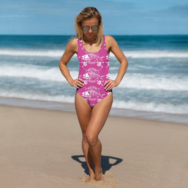 Brag Fishing Womens One-Piece Swimsuit
