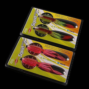 2pcs/lot 15cm/20g UV Glow soft lure Squid Soft Plastic Fishing Lure with lead insert squid soft lure squid baits