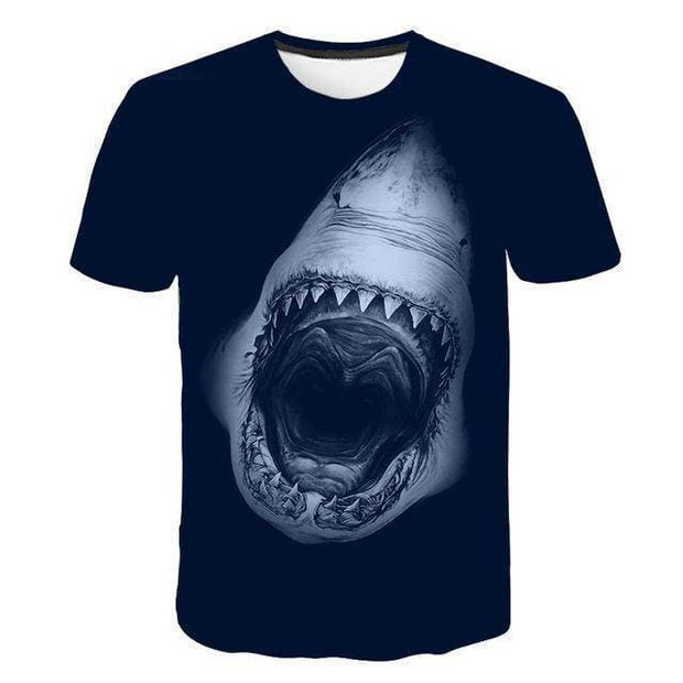 3D Printed T-shirts Cool Male 3D Fish T-shirts - Brag Fishing