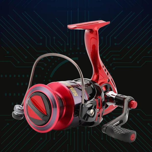 SeaKnight PUCK ARCHER Spinning Reel 4.9:1 5.2:1 Fishing Reel 13KG Max Drag Power Spinning Wheel Long Casting Fishing 2000-6000 - Brag Fishing