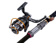 Brag Fishing Spinning Telescopic Mini Fishing Rod Set with Reel Pole