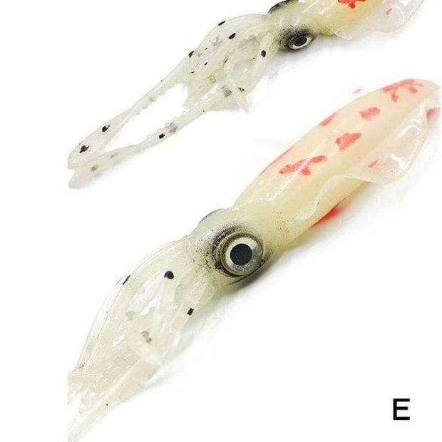 Fishing Lure Luminous Octopus Soft Silicone Bait Lure 10g 12cm - Brag Fishing