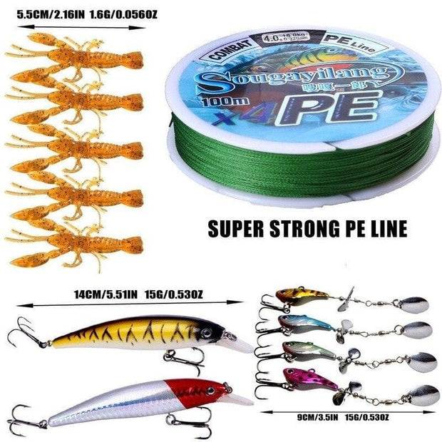 Sougayilang Fishing Rod Reel Combos - Brag Fishing