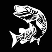 Pike fishing decal - Brag Fishing Australia