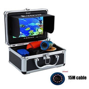 "7"" Fish Finder Camera (With 12 LED Lights For Night Vision) - Brag Fishing"
