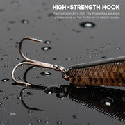 16g 10.5cm 3-segment Jointed Swimbait Crankbaits Fishing Lure Wobbler - Brag Fishing Australia
